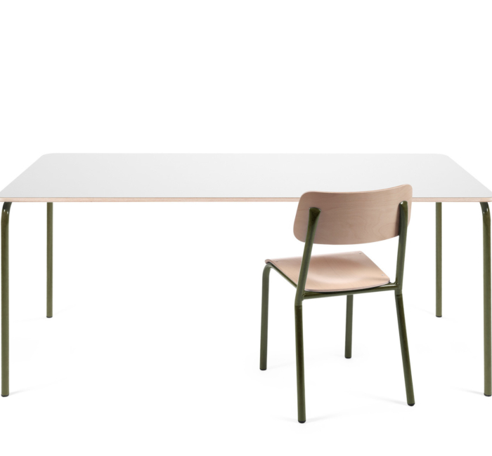 Declercq Products Tables Desks Ml Table Ral 6003 Str White